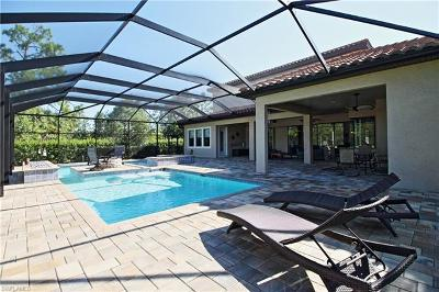 Naples Single Family Home For Sale: 1613 Songbird Ct
