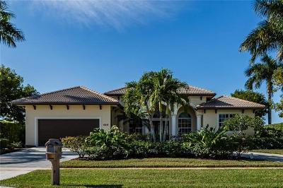 Marco Island Single Family Home For Sale: 444 Nassau Ct