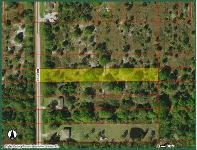 Naples Residential Lots & Land For Sale: 000 NE 44th St