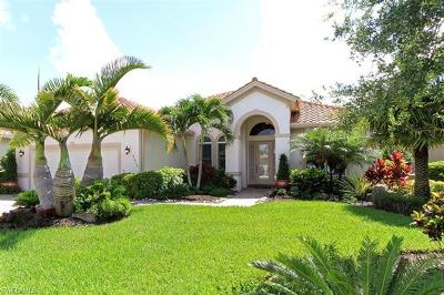 Naples Single Family Home For Sale: 9637 Cobalt Cove Circle Cir