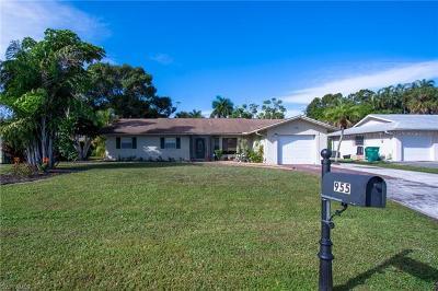 Naples Single Family Home For Sale: 955 Bluebird St