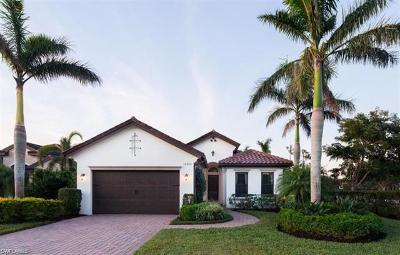 Naples Single Family Home For Sale: 12300 Wisteria Dr
