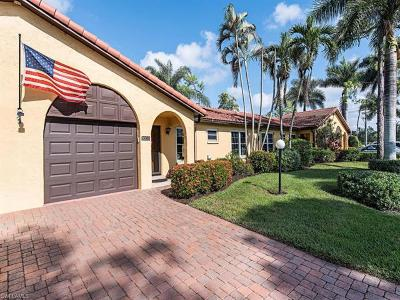 Naples Single Family Home For Sale: 1003 Forest Lakes Dr #19-B