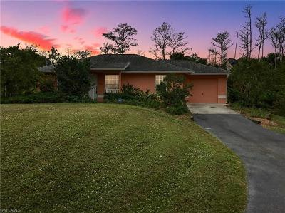 Naples FL Single Family Home For Sale: $237,400