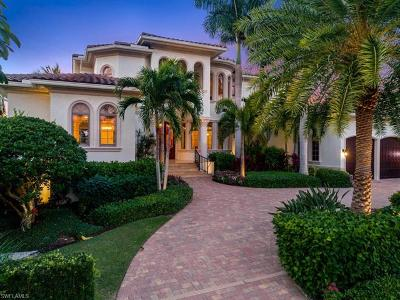 Naples FL Single Family Home For Sale: $6,995,000