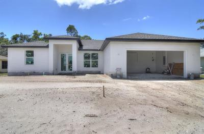 Fort Myers Single Family Home For Sale: 18412 Fuchsia Rd