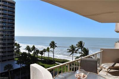 Condo/Townhouse For Sale: 4005 N Gulf Shore Blvd #602