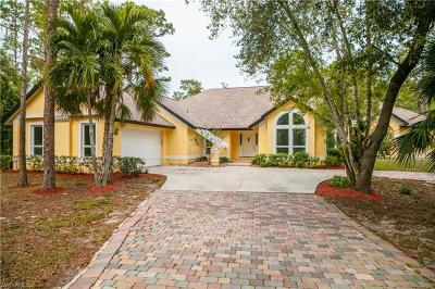 Naples Single Family Home For Sale: 5881 Painted Leaf Ln