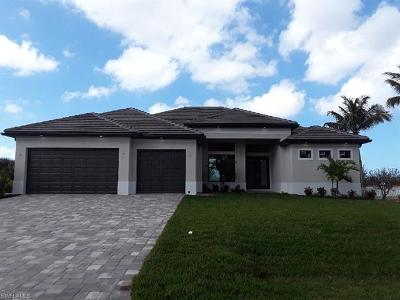 Cape Coral Single Family Home For Sale: 2824 NW 42nd Pl