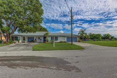 Cape Coral Multi Family Home For Sale: 705 SE 4th Ter #A-B
