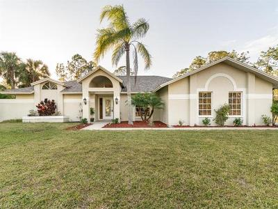 Naples Single Family Home For Sale: 1465 SW 29th St