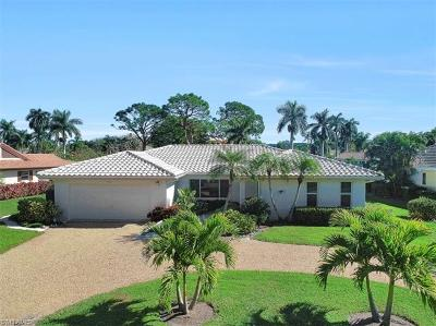 Naples Single Family Home For Sale: 722 Park Shore Ct