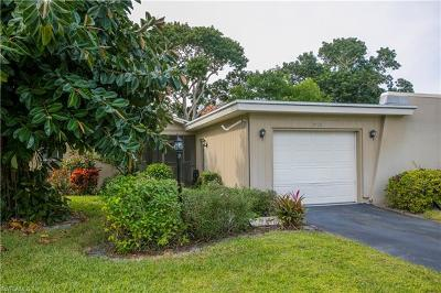 Naples Single Family Home For Sale: 3419 Boca Ciega Dr #E-2