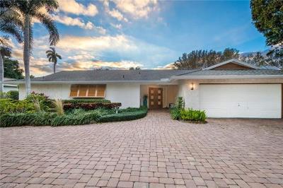 Naples Single Family Home For Sale: 3215 Regatta Rd