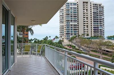 Condo/Townhouse For Sale: 4255 N Gulf Shore Blvd #106