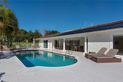 Naples Single Family Home For Sale: 502 Whispering Pine Ln