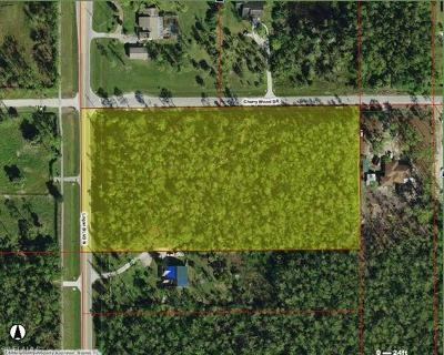 Naples Residential Lots & Land For Sale: Cherry Wood Dr