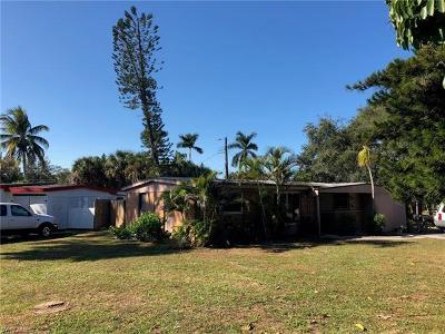 Naples Single Family Home For Sale: 2398 Estey Ave
