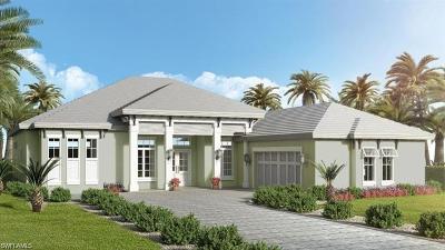Naples Single Family Home For Sale: 14366 Charthouse Cir