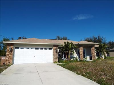 Cape Coral Single Family Home For Sale: 1627 SW 26th St