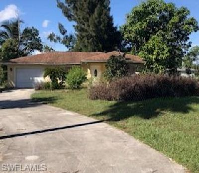 Naples Single Family Home For Sale: 731 NW 19th St