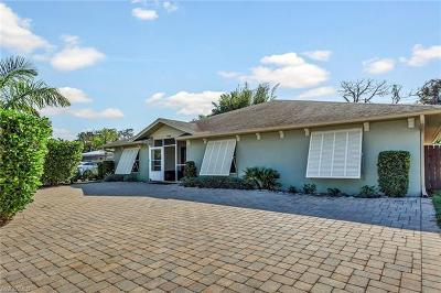 Naples Single Family Home For Sale: 1128 Hilltop Dr