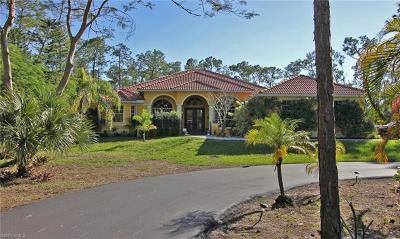 Naples Single Family Home For Sale: 4310 NW 5th Ave
