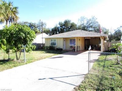 Bonita Springs Single Family Home For Sale: 27931 Quinn St