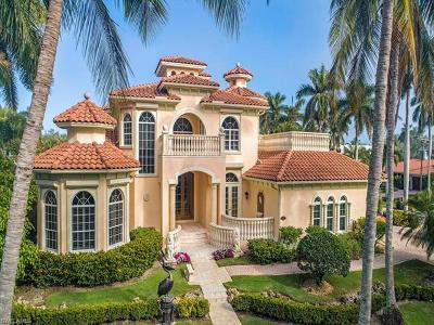 Naples Single Family Home For Sale: 1375 S Gulf Shore Blvd