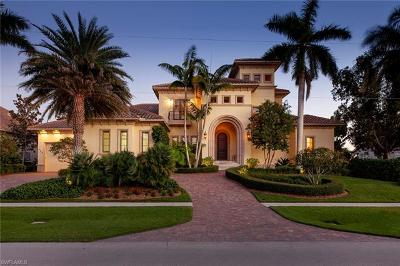 Marco Island FL Single Family Home For Sale: $5,450,000