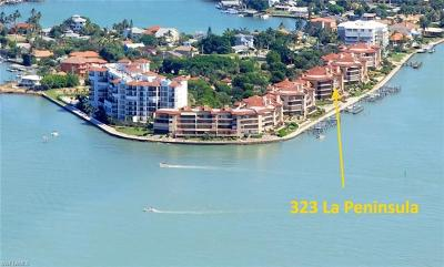 Naples Condo/Townhouse For Sale: 323 La Peninsula Blvd #323