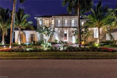 Naples FL Single Family Home For Sale: $6,800,000