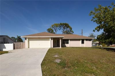 Fort Myers Single Family Home For Sale: 9225 E King Rd