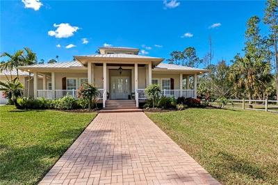 Naples Single Family Home For Sale: 5525 Stable Way