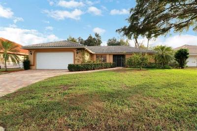 Fort Myers Single Family Home For Sale: 9819 Capstan Ct
