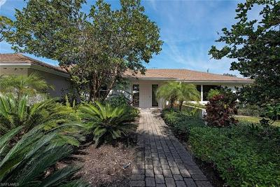 Naples Single Family Home For Sale: 59 Banyan Rd