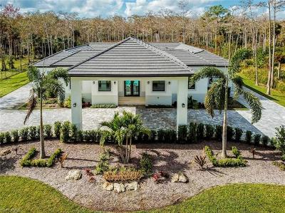 Naples Single Family Home For Sale: 167 NW 17th St