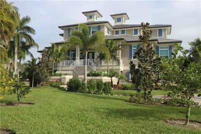 Marco Island Single Family Home For Sale: 1051 E Inlet Dr
