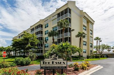 Essex Of Marco Island Condo/Townhouse For Sale: 861 S Collier Blvd #S-301