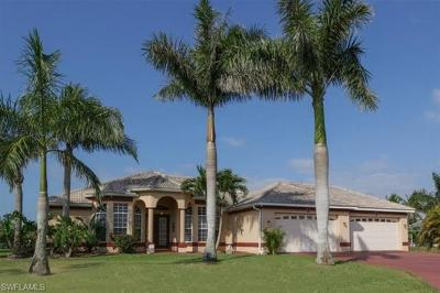 Cape Coral Single Family Home For Sale: 3428 SW 25th Pl