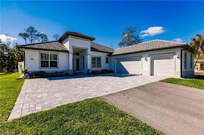 Naples Single Family Home For Sale: 4580 SW 7th Ave