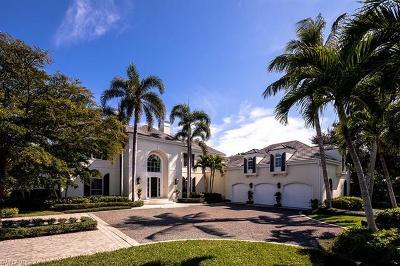 Naples FL Single Family Home For Sale: $7,950,000