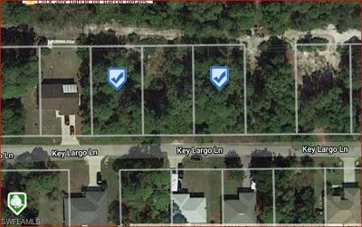 Bonita Springs Residential Lots & Land For Sale: 4632 Key Largo Ln
