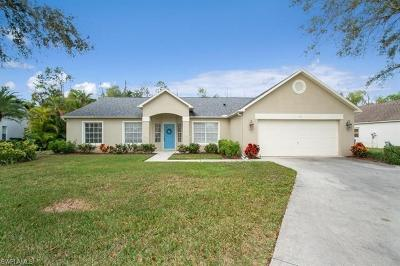 Naples Single Family Home For Sale: 176 Plantation Cir
