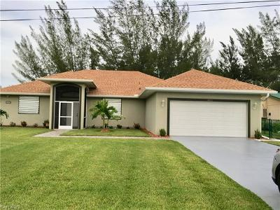 Cape Coral Single Family Home For Sale: 1822 SW 15th Ave