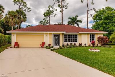 Naples Single Family Home For Sale: 4063 Vine Ln
