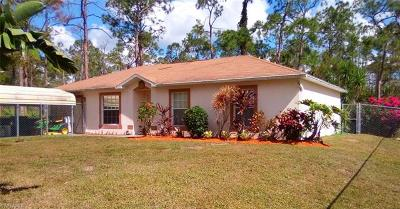 Naples Single Family Home For Sale: 2212 Kean Ct