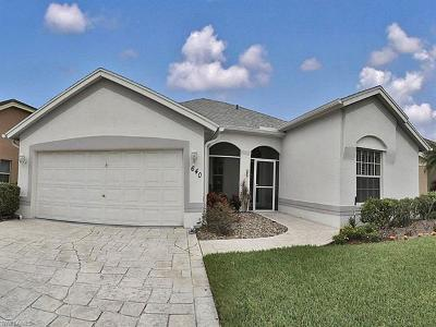 Naples FL Single Family Home For Sale: $355,000