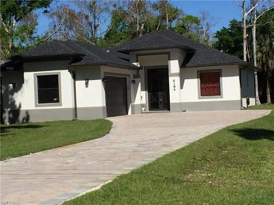 Naples FL Single Family Home For Sale: $399,000
