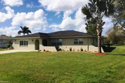 Fort Myers Single Family Home For Sale: 2007 Bahama Ave